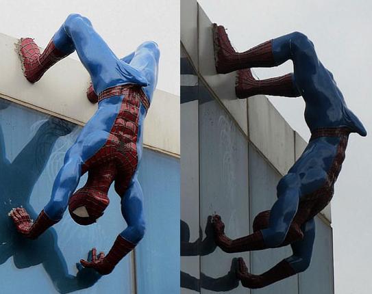 Eunsuk Yoo Spiderman Sculpture Aroused