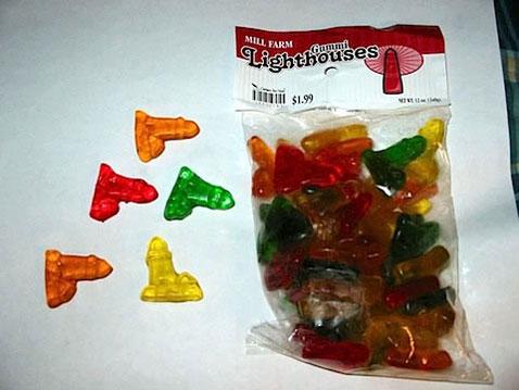 Lighthouse Gummies Candies