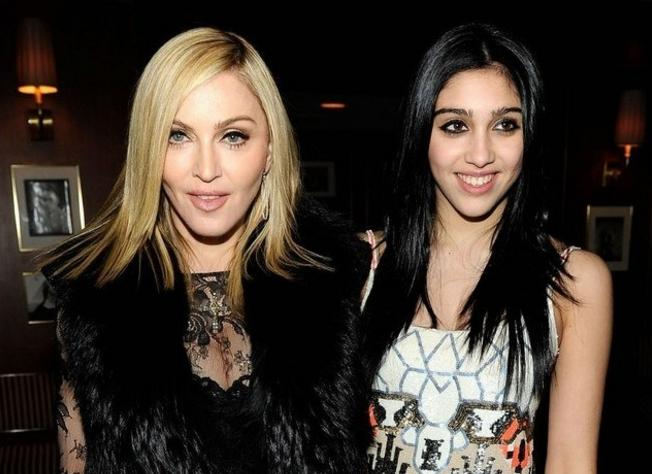 Madonna and Lourdes are twins
