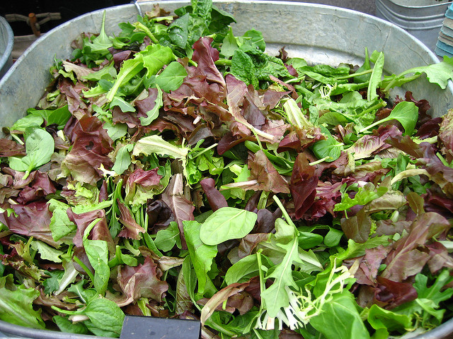 leafy greens and lettuce negative calorie foods