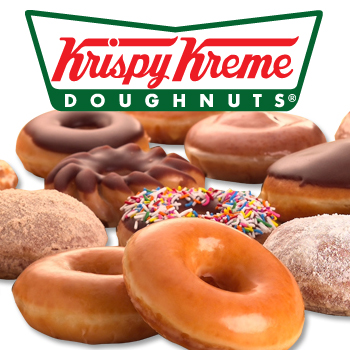 Krispy Kreme Donuts - free birthday doughnut