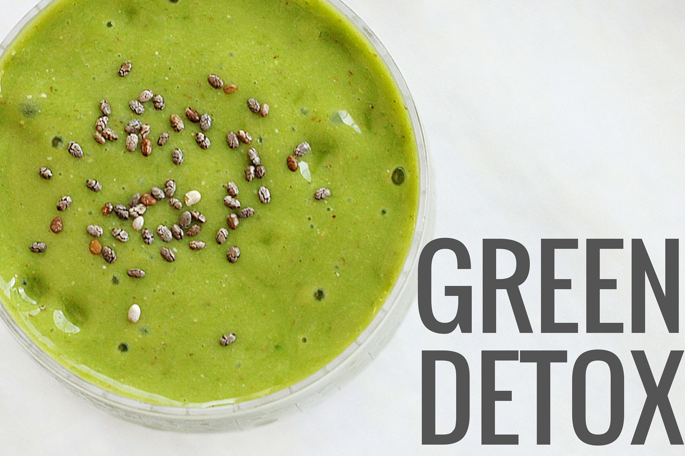 Green Detox Smoothie Recipe on The Doctors TV Show