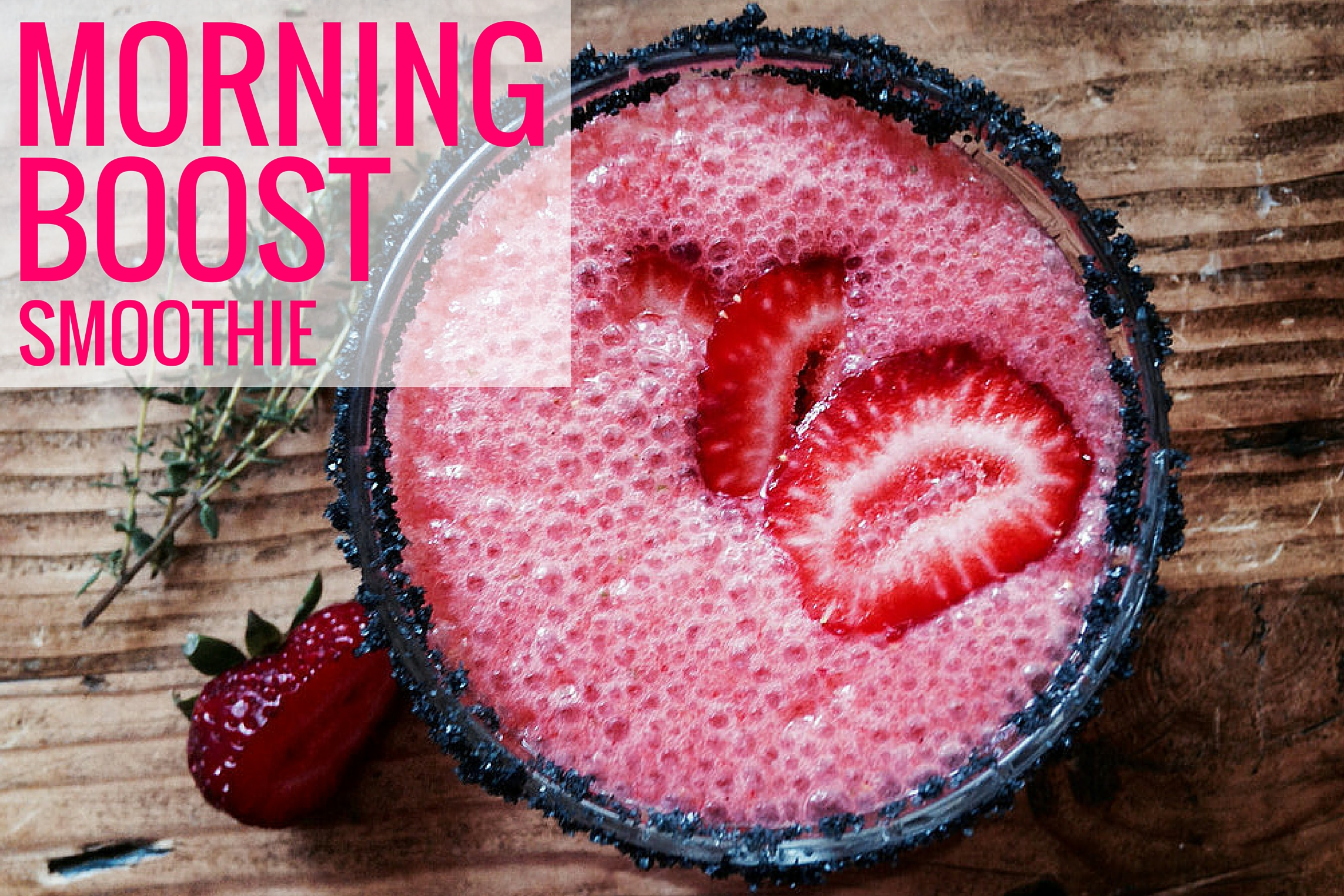 Morning Boost Smoothie Recipe