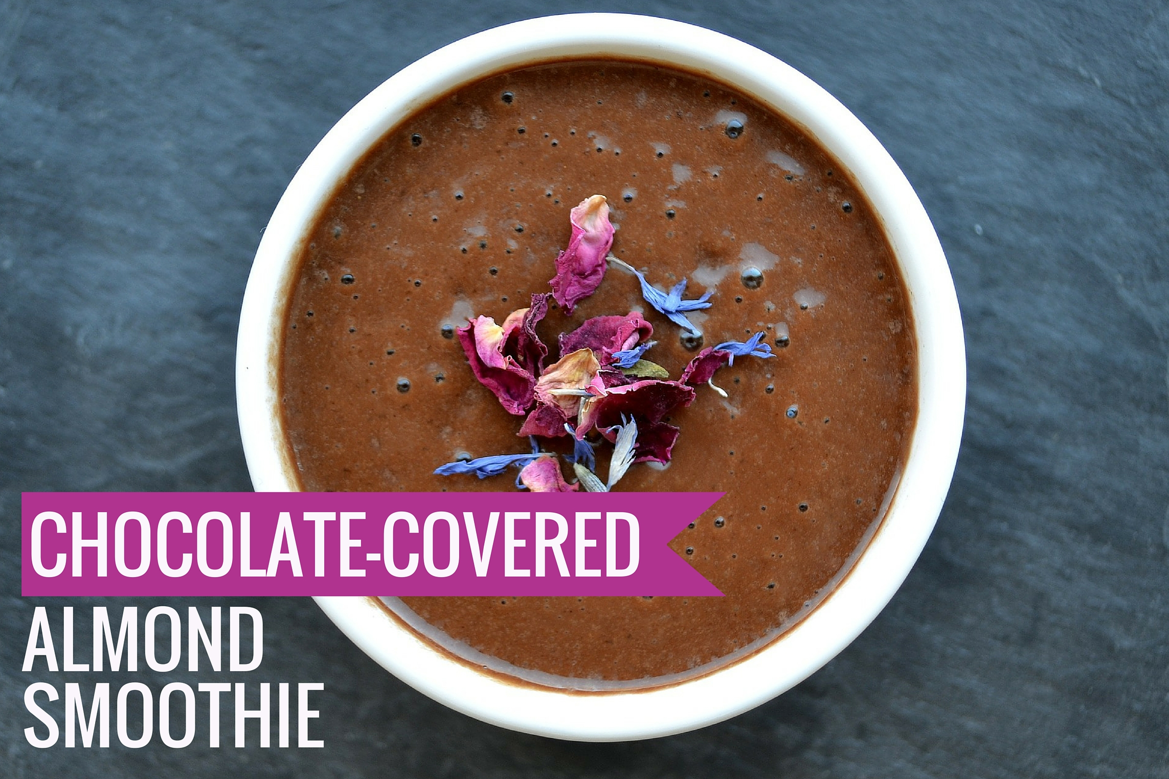 Chocolate Covered Almond Smoothie Dr. Oz Recipe