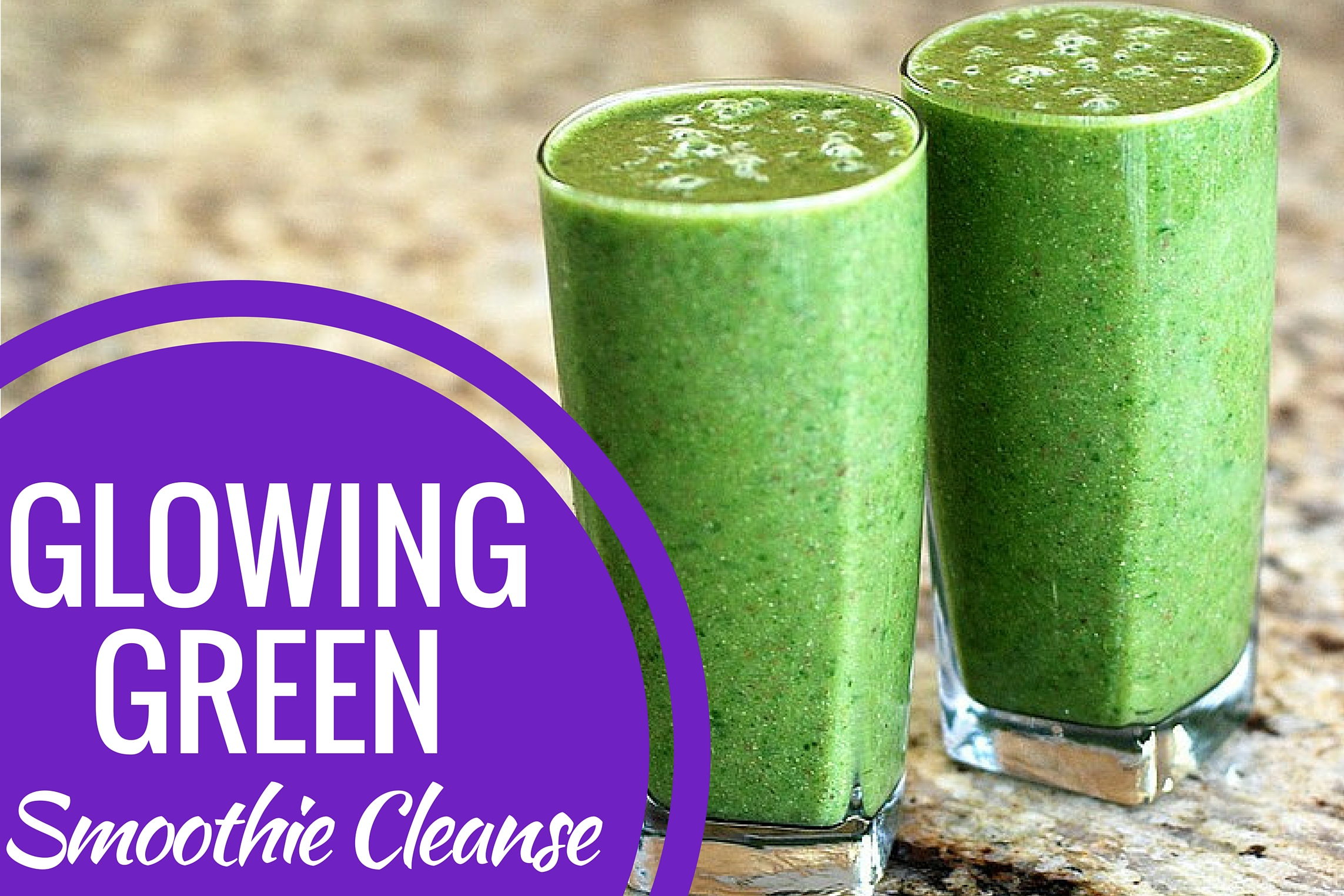 Glowing Green Smoothies