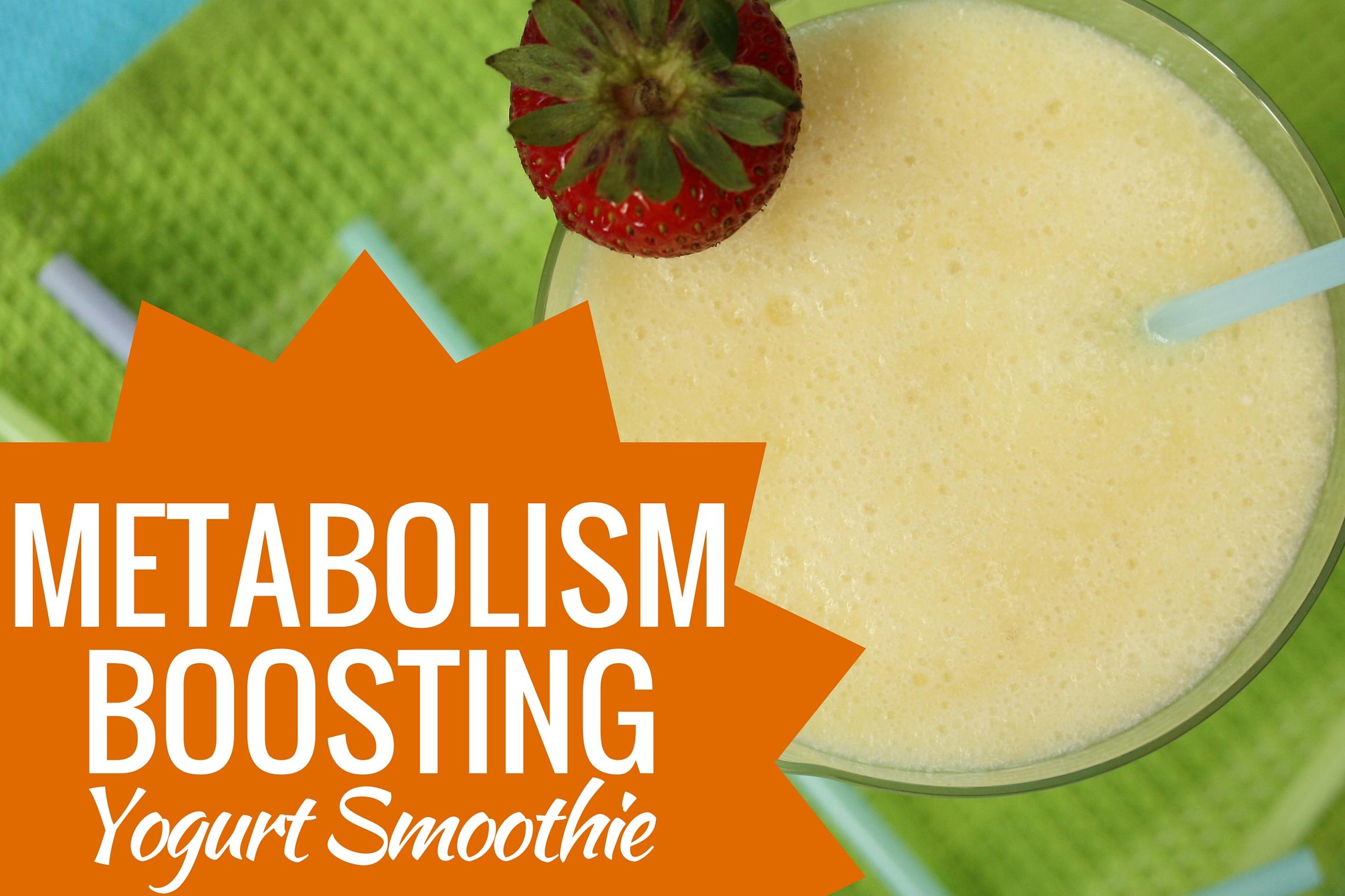 Metabolism Boosting Yogurt Smoothie