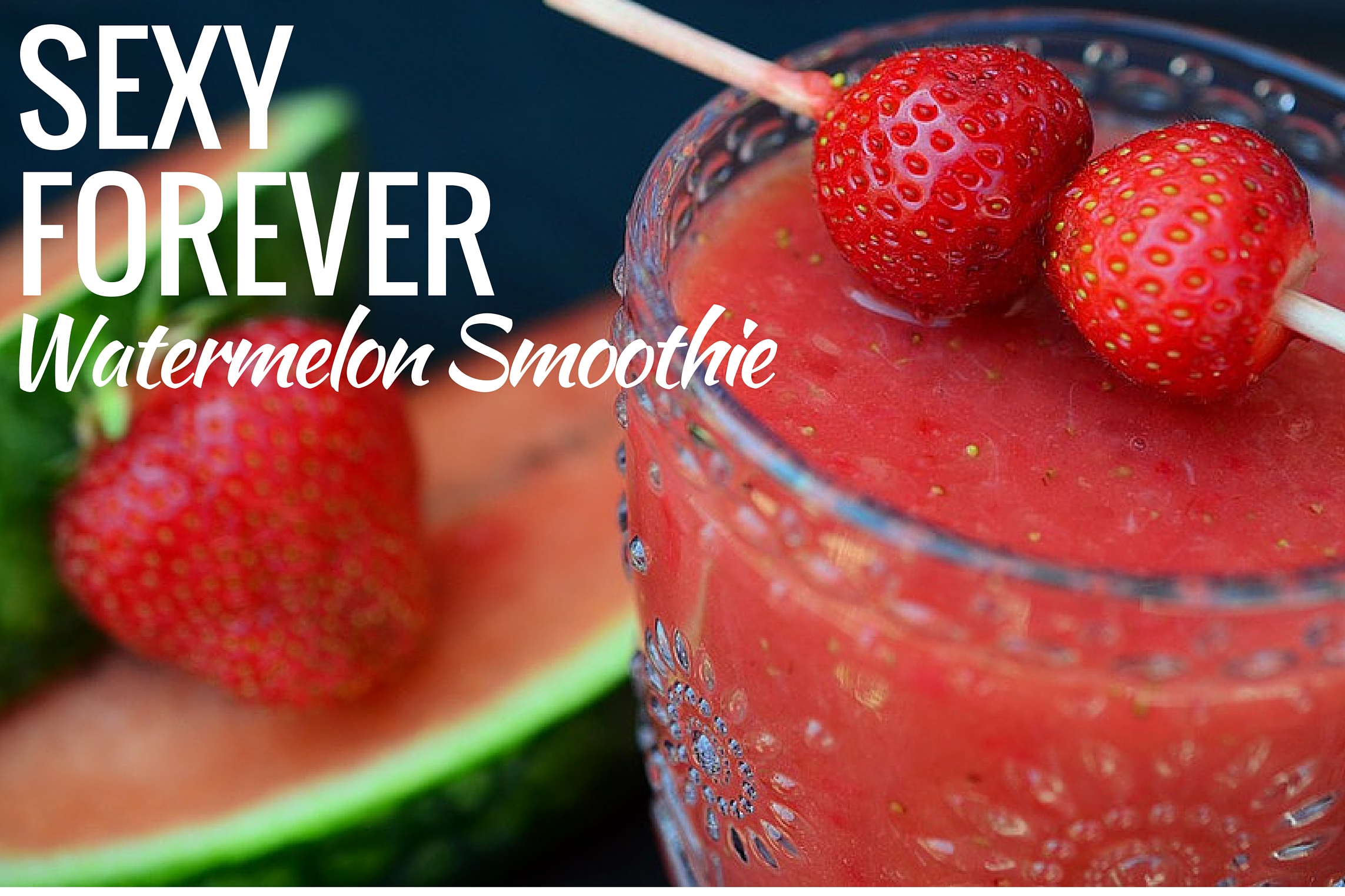 Watermelon Smoothie by Suzanne Somers