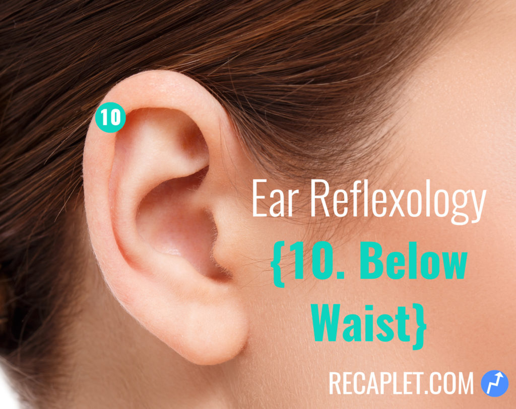 Ear Reflexology for Below Your Waist