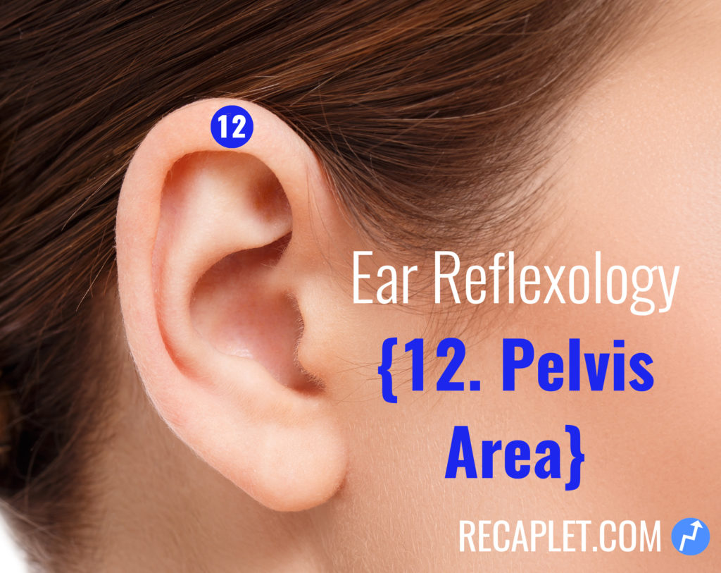 Ear Reflexology for Your Pelvis