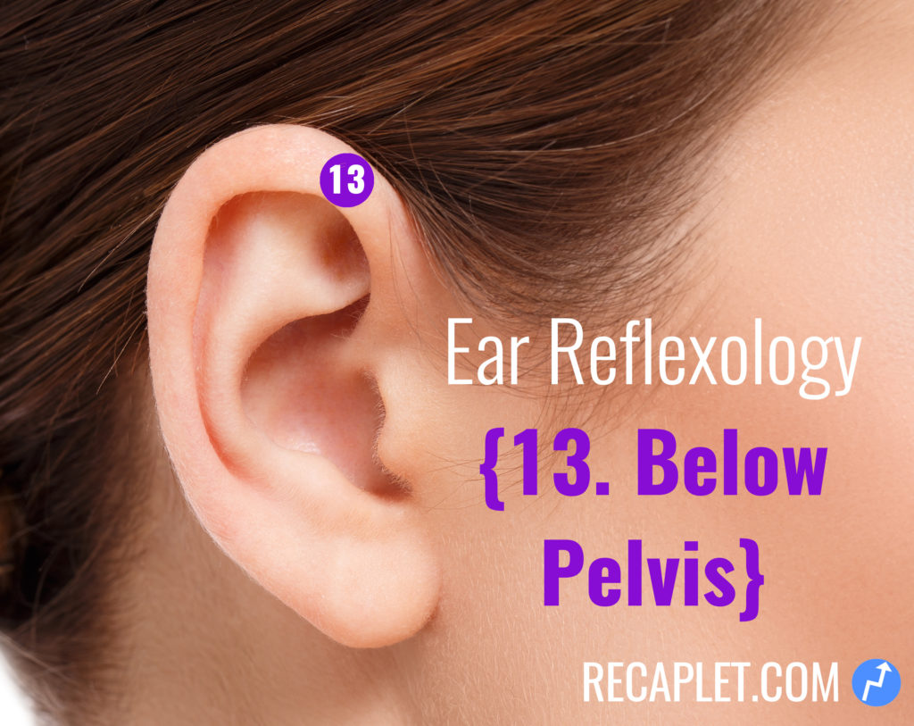 Ear Reflexology for Below Your Pelvis