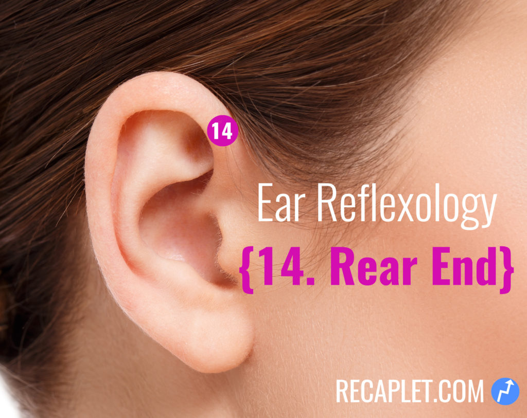 Ear Reflexology for Your Rear End