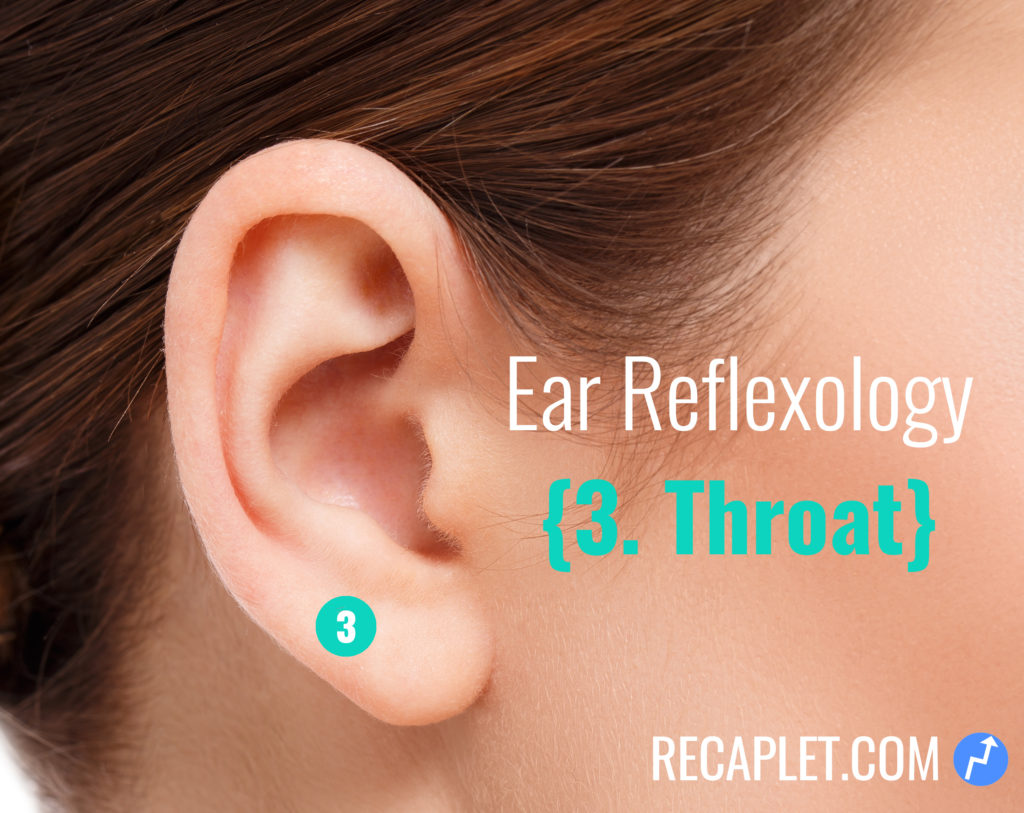 Ear Reflexology for Throat