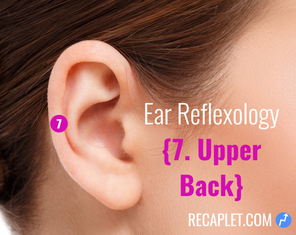 Ear Reflexology for Upper Back