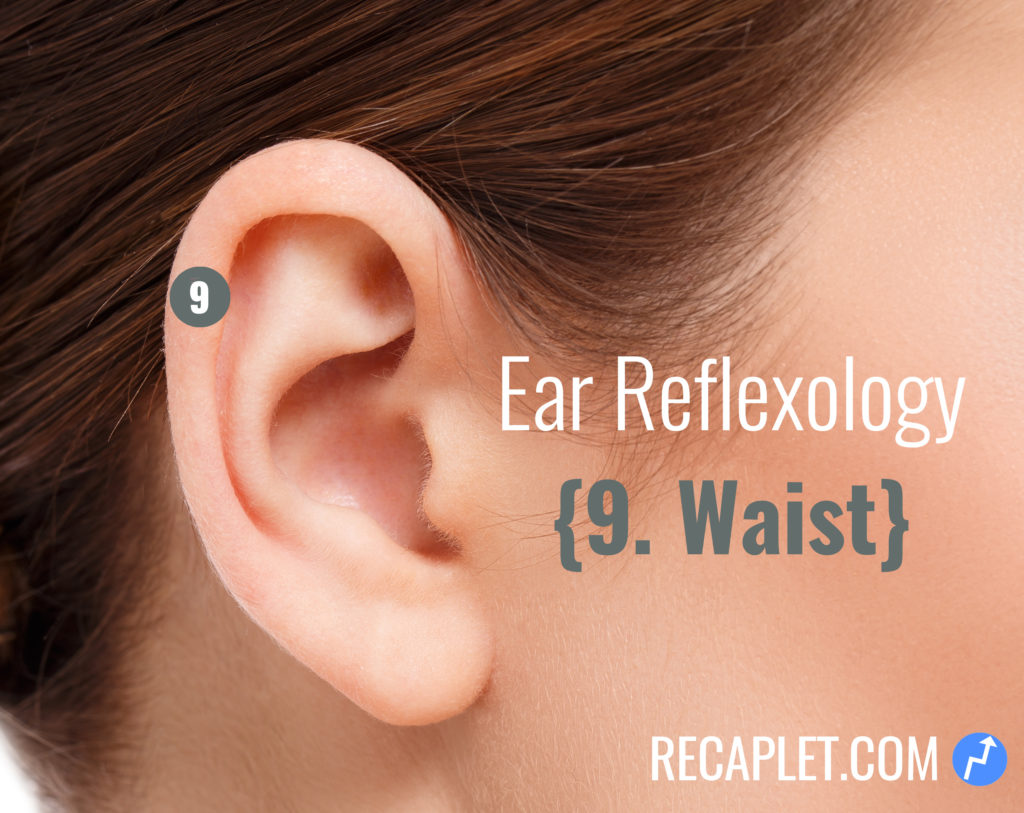 Ear Reflexology for Your Waist
