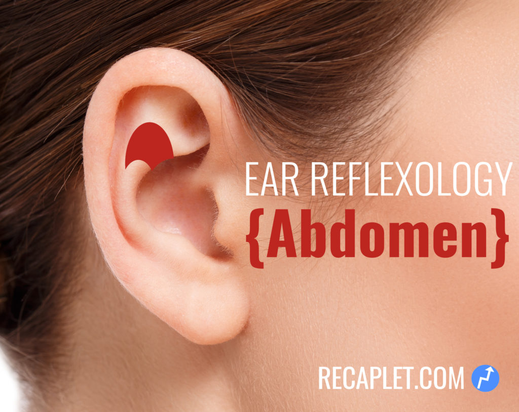 Abdomen Ear Reflexology