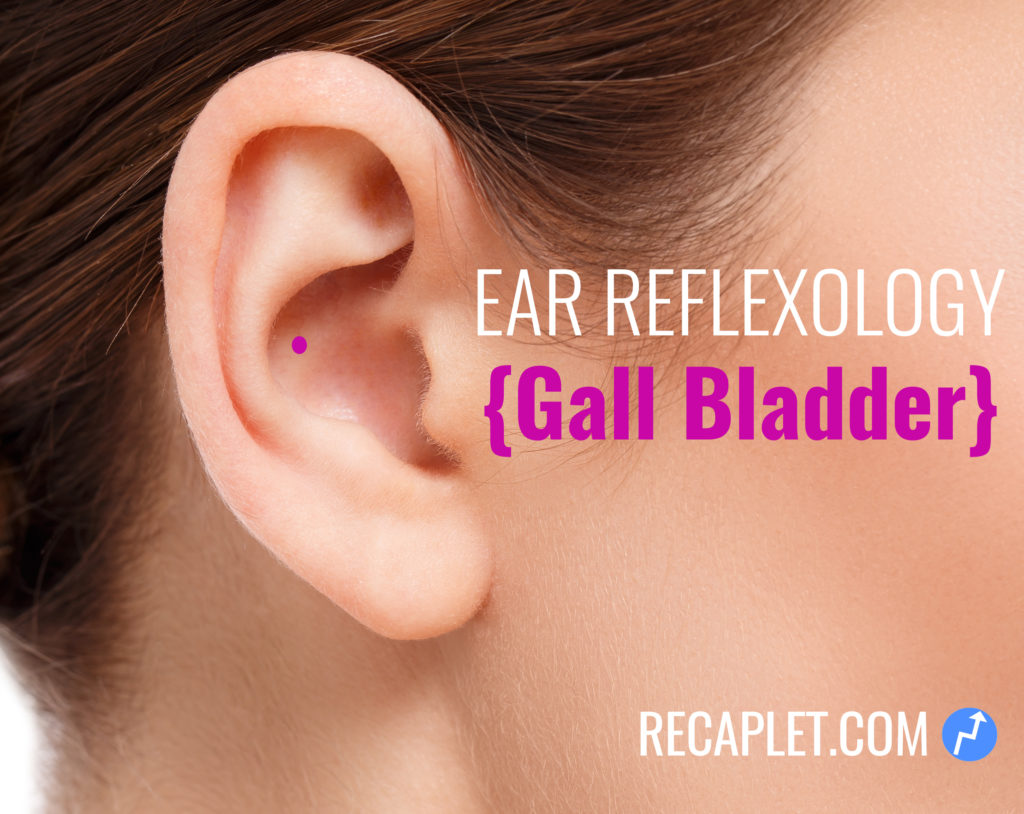 Gall Bladder Reflexology