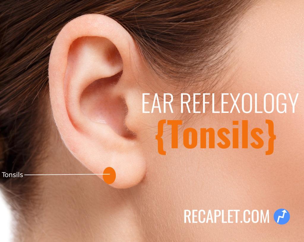 Tonsils Reflexology